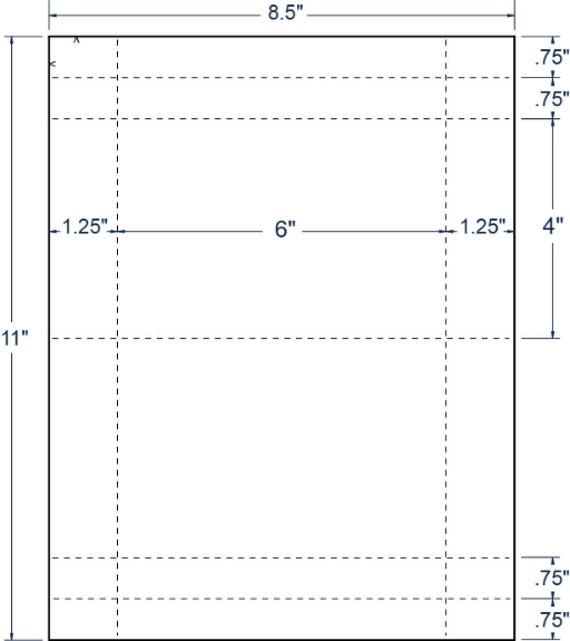 """Compulabel 410657 6"""" x 4"""" Sheeted Cards 100 Sheets"""